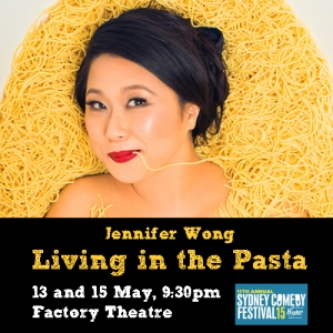 Living in the Pasta at Sydney Comedy Festival