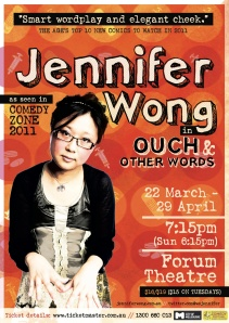 Poster for Ouch & Other Words