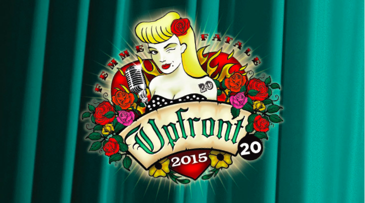 Upfront 2015 at the Melbourne International Comedy Festival